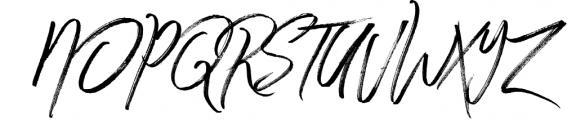 Winter Heart Font UPPERCASE