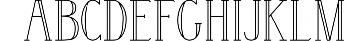 Wintery - A Serif Font Family 1 Font LOWERCASE