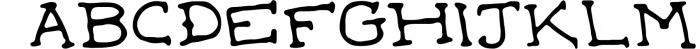 Witches Britches Font Family 1 Font LOWERCASE