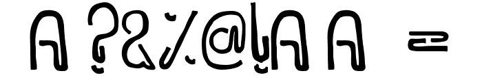 WIDAYAKA Font OTHER CHARS