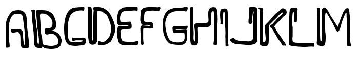 WIDAYAKA Font UPPERCASE