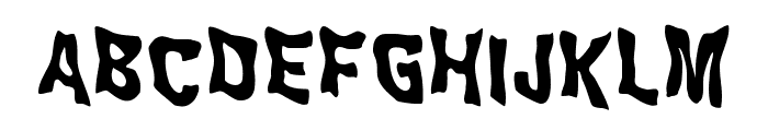 WILD2 Ghixm NC Bold Font UPPERCASE