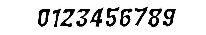 WILD2 Ghixm NC Italic Font OTHER CHARS