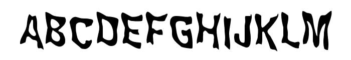 WILD2 Ghixm NC Font UPPERCASE
