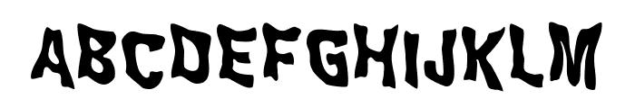 WILD2GhixmNC-Bold Font UPPERCASE