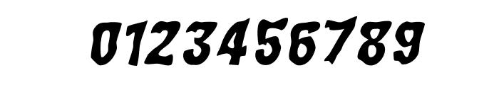 WILD2GhixmNC-BoldItalic Font OTHER CHARS