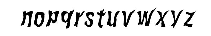 WILD2GhixmNC-Italic Font LOWERCASE