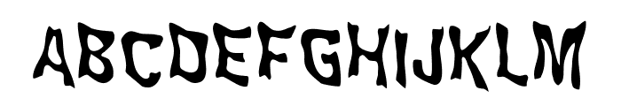 WILD2GhixmNC Font UPPERCASE