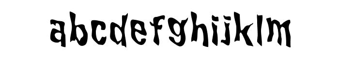 WILD2GhixmNC Font LOWERCASE