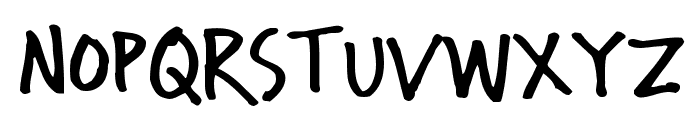 Wichita Font UPPERCASE