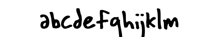 Wichita Font LOWERCASE