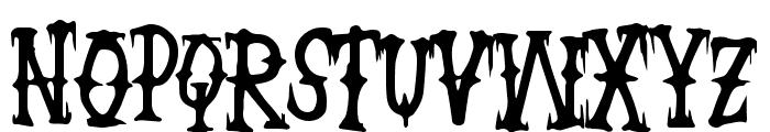 WickedCockney Font UPPERCASE