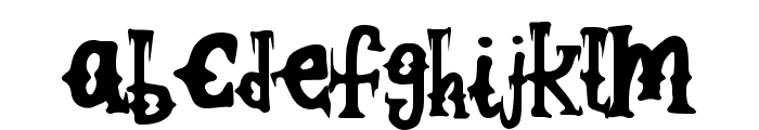 WickedCockney Font LOWERCASE