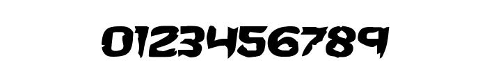 Wicker Man Semi-Italic Font OTHER CHARS