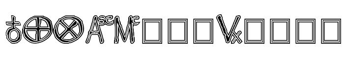 Widget ExtraBold Font UPPERCASE
