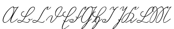 Wiegel Kurrent Medium Font UPPERCASE