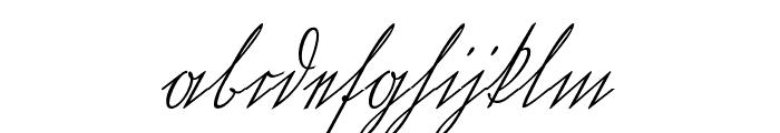 Wiegel Kurrent Medium Font LOWERCASE