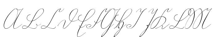 Wiegel Kurrent Font UPPERCASE