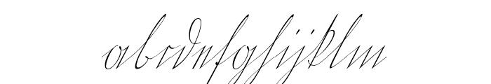Wiegel Kurrent Font LOWERCASE
