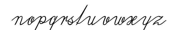 Wiegel Latein Medium Regular Font LOWERCASE