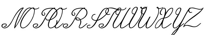Wiegel Latein Medium Font UPPERCASE