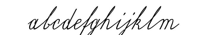 Wiegel Latein Medium Font LOWERCASE