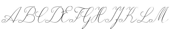 Wiegel Latein Font UPPERCASE