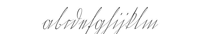WiegelKurrent Font LOWERCASE