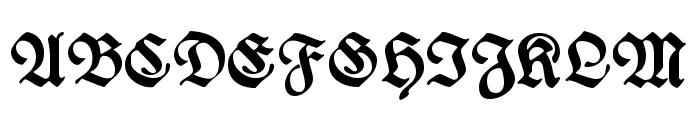 WieynckFrakturUNZ1L-Bold Font UPPERCASE