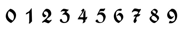 WieynckFrakturUNZ1L-BoldItalic Font OTHER CHARS