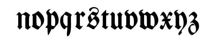 WieynckFrakturUNZ1L-Bold Font LOWERCASE