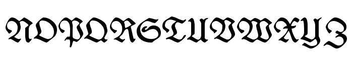 WieynckFrakturUNZ1L Font UPPERCASE