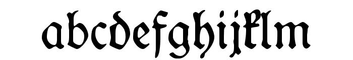 WieynckFrakturUNZ1L Font LOWERCASE