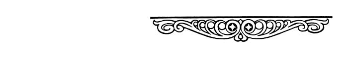Wieynk Fraktur Vignetten Font OTHER CHARS