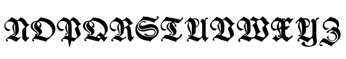 Wieynk Fraktur Zier Font UPPERCASE