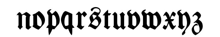 Wieynk Fraktur Zier Font LOWERCASE