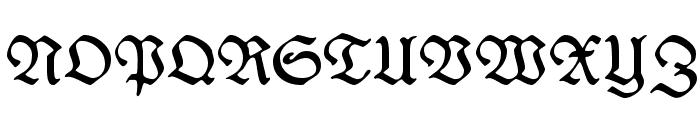 WieynkFraktur Font UPPERCASE