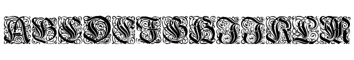 WieynkFrakturInitialen Font UPPERCASE
