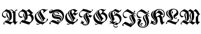 WieynkFrakturInitialen Font LOWERCASE