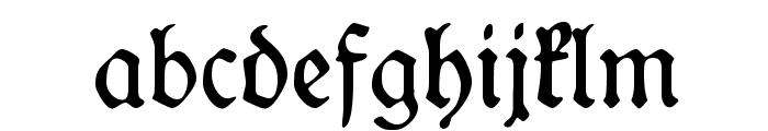 WieynkFraktur Font LOWERCASE