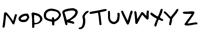 Wiffles Font UPPERCASE