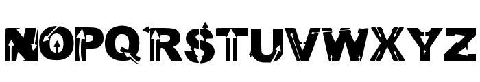 Wild Arrows Font UPPERCASE