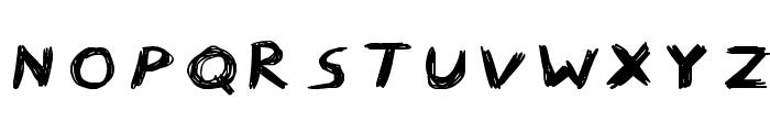 Wild Freak Font UPPERCASE
