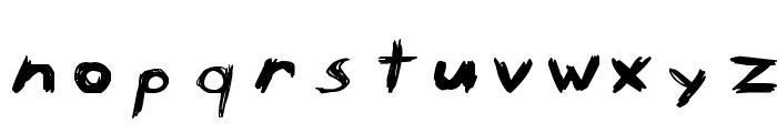Wild Freak Font LOWERCASE