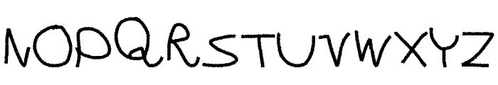 Wild Show Font LOWERCASE