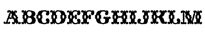 Wild West Wind Font LOWERCASE