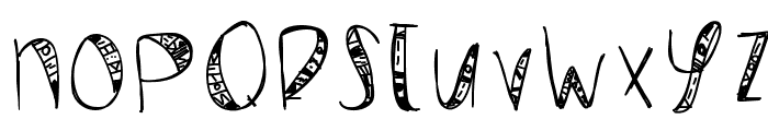 WildCrazy Font UPPERCASE