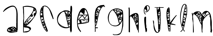 WildCrazy Font LOWERCASE