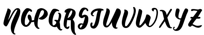 WildCreaturesSample Font UPPERCASE
