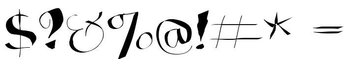 WildQuill Font OTHER CHARS